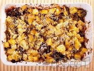 Рецепта Картофена запеканка с броколи (пресни или замразени) и сирене под фолио на фурна